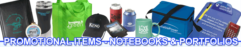 Promotional Items - Notebooks & Portfolios