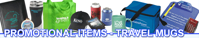 Promotional Items - Travel Mugs